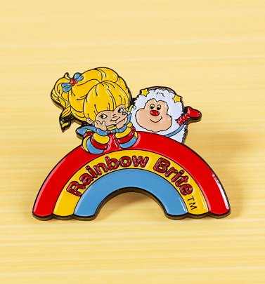 Rainbow Brite Pin Badge