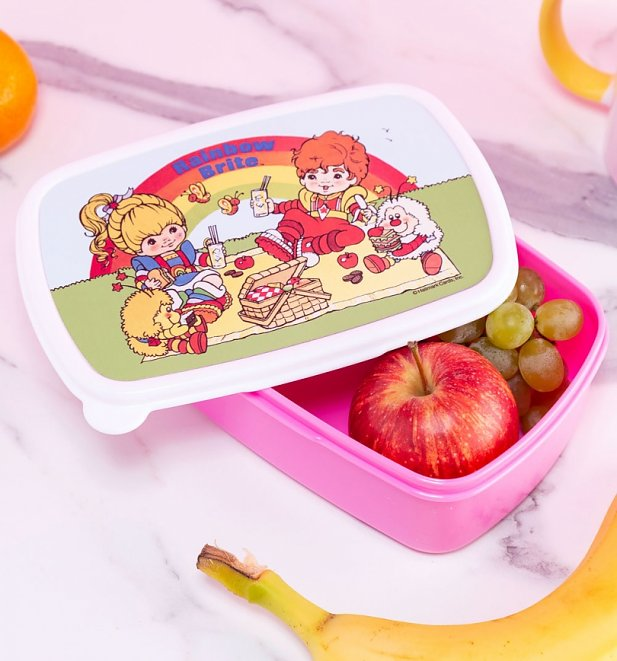 Rainbow Brite Retro Pink Lunchbox