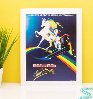 "Rainbow Brite Star Stealer 11"" x 14"" Art Print"