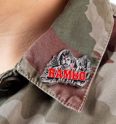 Rambo Limited Edition Pin Badge