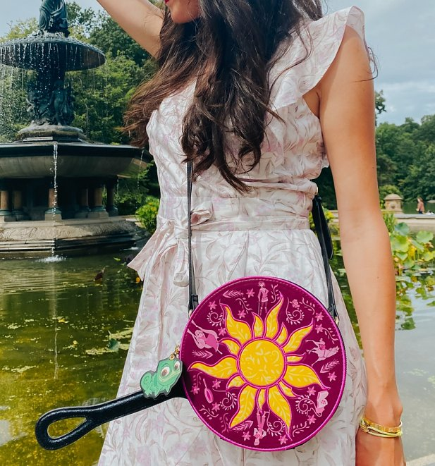 Rapunzel's Frying Pan Disney Tangled Wristlet Bag from Danielle Nicole