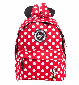 Red Disney Minnie Mouse Backpack With Ears from Hype