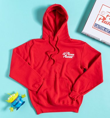 Red Disney Toy Story Pizza Planet Hoodie