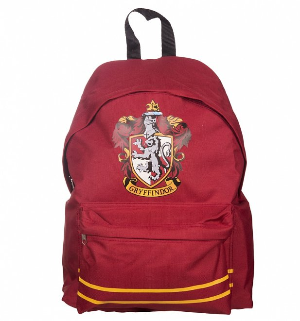 red harry potter gryffindor backpack. Black Bedroom Furniture Sets. Home Design Ideas