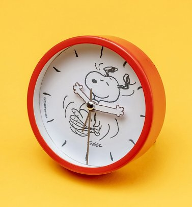 Red Peanuts Snoopy Alarm Clock