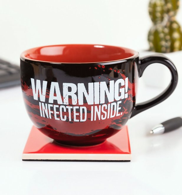Resident Evil Infected Inside Hidden 3D Mug