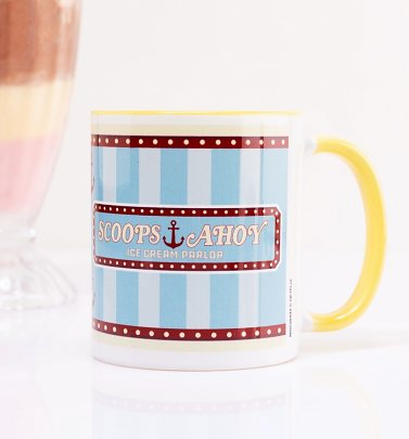 Stranger Things Scoops Ahoy Ice Cream Parlour Mug
