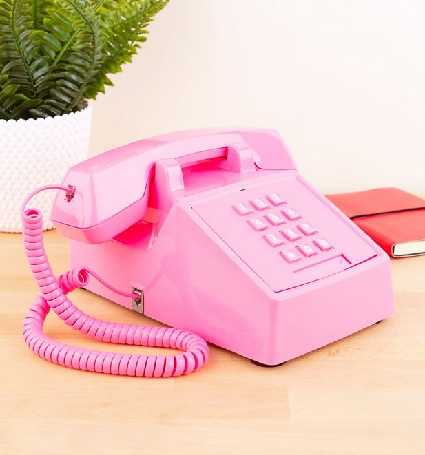 Retro Flamingo Pink 2500 Phone