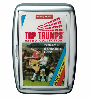 Retro Football Top Trumps Card Game
