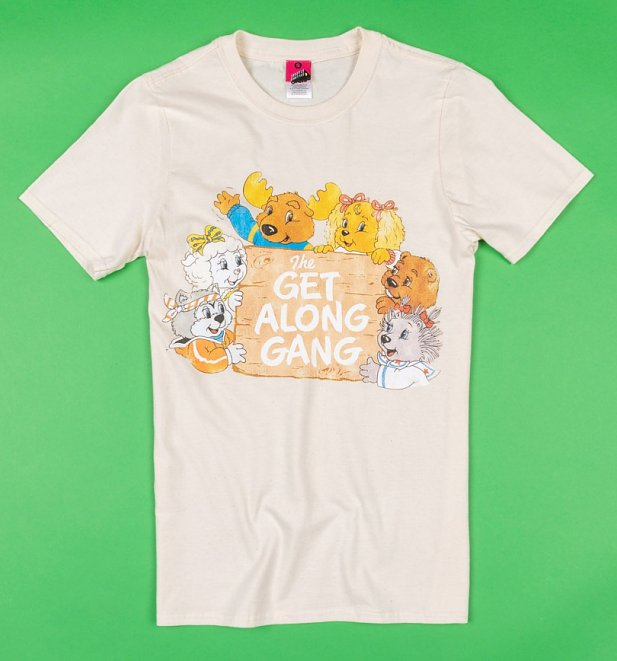 Retro Get Along Gang Ecru T-Shirt
