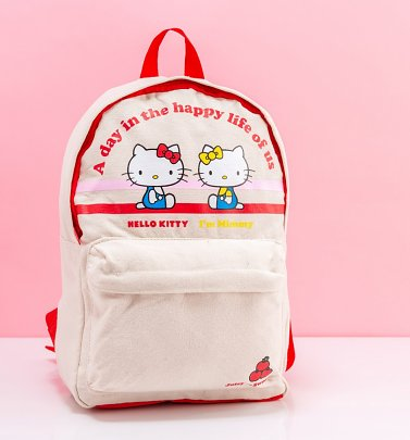 Retro Hello Kitty Backpack