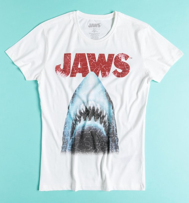 Retro Jaws T-Shirt from Difuzed