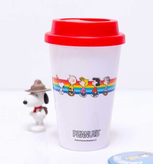 Retro Peanuts Mini Travel Mug
