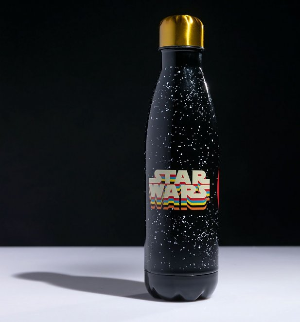 Retro Star Wars Millennium Falcon Metal Water Bottle from Funko