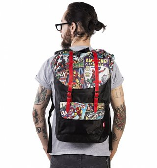 Retro Marvel Comics Urban Backpack