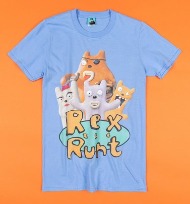 Rex The Runt Blue T-Shirt
