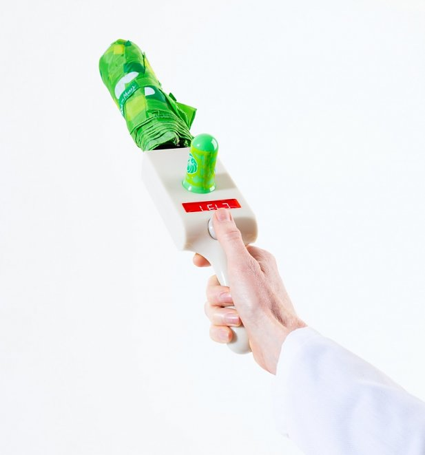 Rick And Morty Portal Gun Handle Umbrella