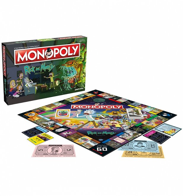 Rick and Morty Monopoly Game Set