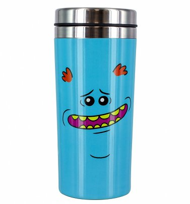 Rick and Morty Mr Meeseeks Travel Mug