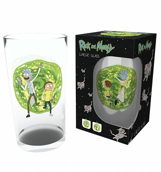 Rick and Morty Portal Large Boxed Glass