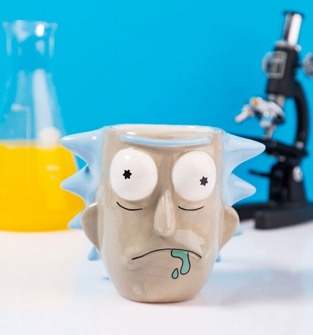 Rick and Morty Rick 3D Mug
