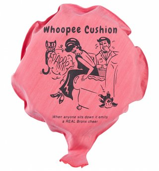 Ridley's Self-Inflating Whoopee Cushion