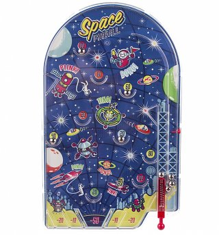 Ridley's Space Pinball Game