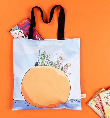 Roald Dahl James And The Giant Peach Tote Bag