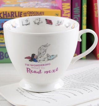 Roald Dahl Matilda What To Read Next Footed China Mug