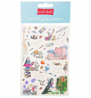 Roald Dahl Swashboggling Stickers