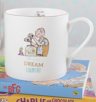 Roald Dahl The BFG Dream Country Large Boxed China Mug