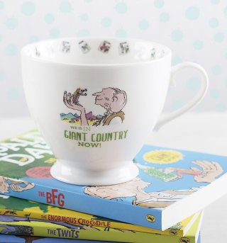Roald Dahl The BFG Giant Country Footed China Mug