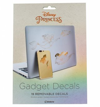 Rose Gold Disney Princess Gadget Decals