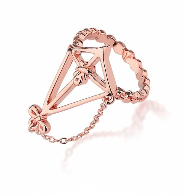 Rose Gold Plated Mary Poppins Kite Ring from Disney by Couture Kingdom