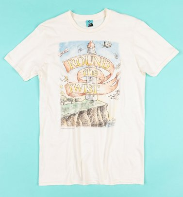 Round The Twist Retro Lighthouse Ecru T-Shirt