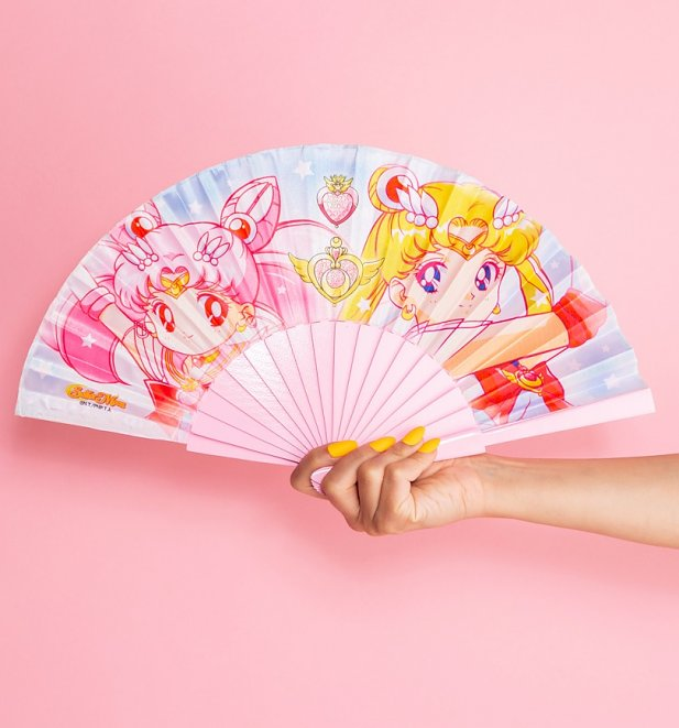 Sailor Moon And Sailor Chibi Moon Fan