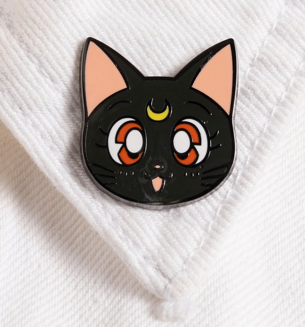 Sailor Moon Luna Enamel Pin Badge