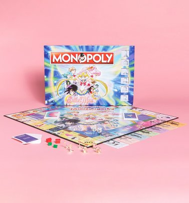 Sailor Moon Monopoly Game Set