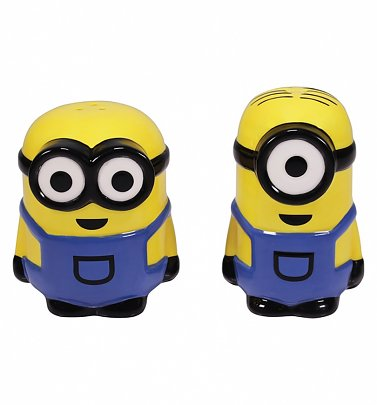 Set of 2 Minions Salt and Pepper Shakers