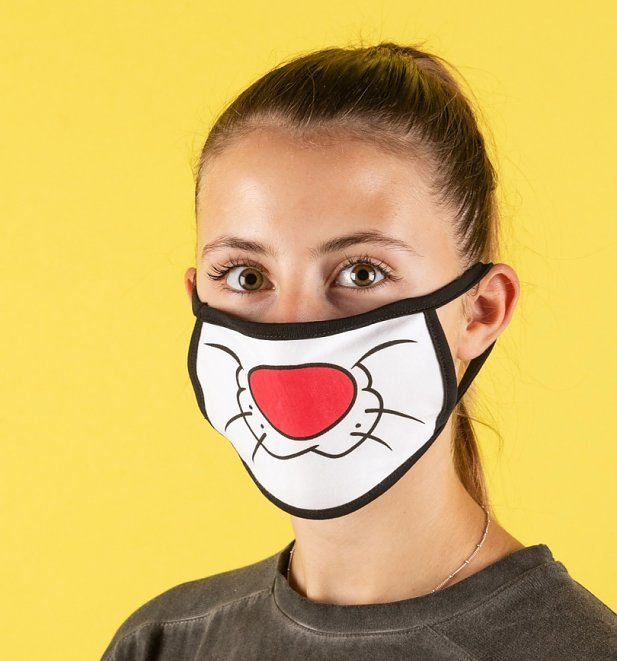 Set of Two Looney Tunes Sylvester Face Masks