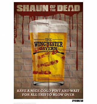 "Shaun Of The Dead Winchester Tavern 11.7"" x 16.5"" Art Print"