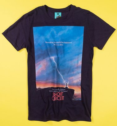Short Circuit Movie Poster T-Shirt