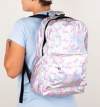Silver Barbie Backpack from Spiral