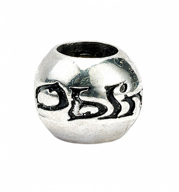 Silver Plated Harry Potter Set of 4 Spell Charm Beads
