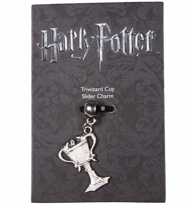 Silver Plated Harry Potter Triwizard Cup Slider Charm