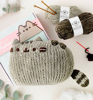 Sitting Pusheen Knitting Kit from Stitch & Story