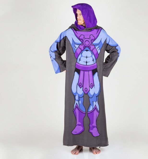 Skeletor Snuggler Blanket With Sleeves