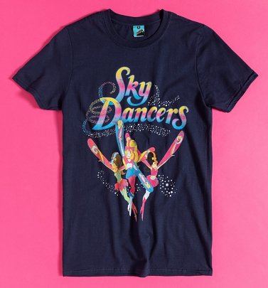 Sky Dancers Navy T-Shirt