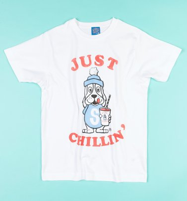 Slush Puppie Just Chillin White T-Shirt