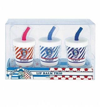 Slush Puppie Lip Balm Cup Trio